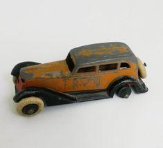Vintage 1930s TootsieToy Car Graham Die Cast Sedan for Parts or Repair Diecast #TootsieToy #Graham