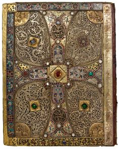 Back cover of the Lindau Gospels, Court School of Charles the Bald Switzerland, Abbey of St. Gall, late ninth century ca. 880