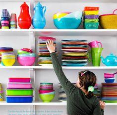 Rice dk Melamine Side Plates Set of 6 Kitchen Colors, Kitchen Decor, Kitchen Styling, Kitchen Ideas, Kitchen Design, Side Plates, Open Kitchen, Plate Sets, Rainbow Colors