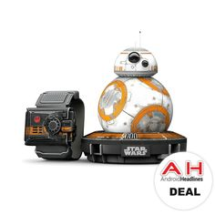 Deal: Sphero Star Wars BB-8 App Controlled Robot with Star Wars Force Band for $145 – Today Only! #Android #Google #news