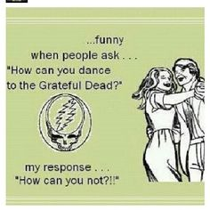 """That's the truth! Try listening to """"Bertha"""" and not dancing~ I don't think it can be done! Sandi"""