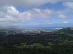 windward side