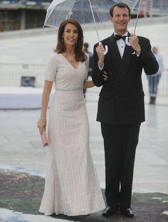 Newmyroyals:  80th Birthday Celebrations, Day 2, Opera House Dinner, May 10, 2017-Princess Marie and Prince Joachim