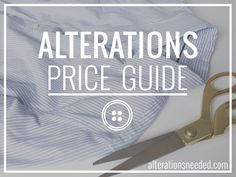 Hi everyone! Since I get so many items tailored and am always asked about how much alterationscost, I've compiled a pricing guide below. I...
