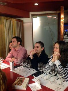 Noches de Vino en Vinalia. En esta ocasión se realizó la cata comentada y maridada de los vinos de la Bodega Montalvo Wilmot por parte de Nieves Lucendo, Enóloga de la Bodega.