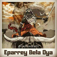 Veja mais em meu insta: @UmFilhoDeFe  Eparrey Bela Oya, Iansã, Yansa. Orixá Cryptozoology, Mythology, Spirituality, Instagram, Anime, Design, Awesome Tattoos, Fantasy Art, Tatoo