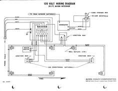 Image result for avion trailer    wiring       diagram      196x avions   Pinterest   Camper makeover