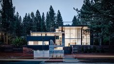 Faulkner Architects creates holiday home with sweeping Lake Tahoe views
