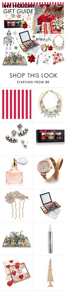 """""""The Holiday Wish List With Neiman Marcus: Contest Entry"""" by liliblue ❤ liked on Polyvore featuring Neiman Marcus, Lulu Frost, DANNIJO, Smith & Cult, Guerlain, Shinola, L. Erickson, Christian Lacroix, Christian Dior and Dot & Bo"""