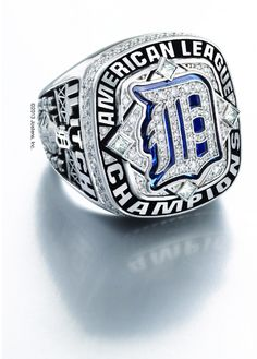 Detroit Tigers American League Championship Ring