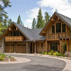 Log Cabin Love - Residential Garage Decor