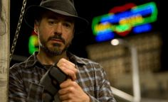 "Robert Downey Jr. as Los Angeles Times columnist Steve Lopez in ""The Soloist"""