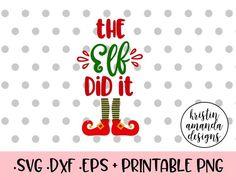 The Elf Did It Christmas SVG DXF EPS PNG Cut File • Cricut • Silhouette My First Christmas Y'all SVG DXF EPS PNG Cut File • Cricut • Silhouette Cookies for Santa Christmas SVG DXF EPS PNG Cut File • Cricut • Silhouette Rudolph is My Bestie SVG DXF EPS PNG Cut File • Cricut • Silhouette Cotton Headed Ninny Muggins Christmas SVG DXF EPS PNG Cut File • Cricut • Silhouette This Home is Under Elf Surveillance Christmas SVG DXF EPS PNG Cut File • Cricut • Silhouette Days Until Christmas Countdown…