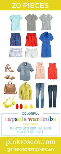 Dear Stylist: I love the color, I just don't look good in this yellow. I love the blue and would be willing to try the orange. Pantone Spring 2016 Colorful Capsule Wardrobe
