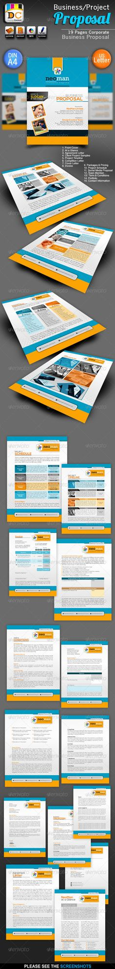 Proposal Template Canada, Fonts and Australia - advertising proposal template