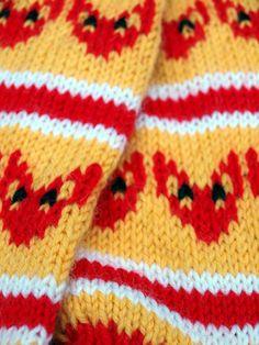 Knitting Projects, Knitting Patterns, Marimekko, Knitting Socks, Crochet, How To Make, Slippers, Diy, Knit Socks
