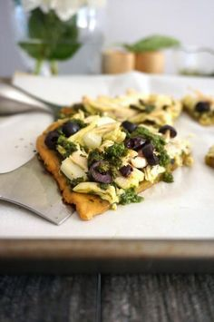 Pesto Chicken Pizza from The Healing Kitchen (Paleo, AIP) - Grazed & Enthused