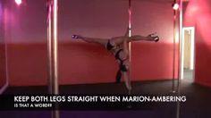 pole dance tutorial advanced - YouTube