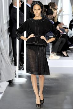 Christian Dior Spring 2012 Couture Fashion Show - Joan Smalls (IMG)