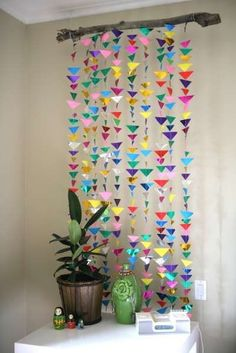 21-Extraordinary-Smart-DIY-Paper-Wall-Decor-That-Will-Color-Your-Life-homesthetics-design-5