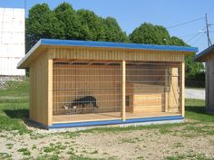 Фото вольера для собаки Dog Kennel And Run, Diy Dog Kennel, Dog Enclosures, Pond Animals, Dog Kennel Designs, Pallet Dog Beds, Cool Dog Houses, Dog Area, Dog Fence