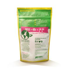 Check out the back of our best selling tea! And, for every bag of CUTEA you buy, we donate 14 days of clean drinking water to a child in need. Doing good never tasted so great!