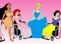 article photos : princesses disney handicapées