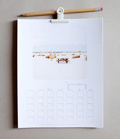Five Wall Calendars for 2013 // Пет предложения за календар за 2013 | 79 Ideas