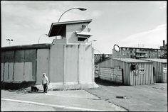 Grenzübergang für Bundesbürger, Heinrich-Heine-Straße, Kreuzberg, 1980er