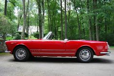 Alfa romero spider--this is what I'll be driving in Italy this spring. Can't wait!