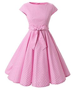 Cheap vestidos plus, Buy Quality rockabilly dress directly from China dress summer Suppliers: Plus Size Women Clothing Audrey hepburn Vintage robe Rockabilly Dresses Summer Style Retro Swing Casual Dot Vestidos 50s Dresses, Dresses Online, Vintage Dresses, Fashion Dresses, Girls Dresses, Vintage Outfits, Summer Dresses, Rockabilly Dresses, 50s Vintage