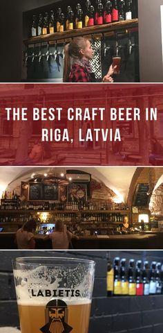 The best craft beer in Riga, Latvia - PintoPin Beer Brewery, Beer Bar, Baltic Cruise, Best Craft Beers, Riga Latvia, Europe Travel Tips, Travel Destinations, Wine And Beer, Best Beer