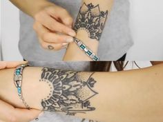 love Sammi's (Beautycrush on Youtube) wrist tattoo; thinking about doing something similar to add to my existing wrist tattoo...