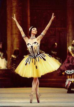 """Maria Alexandrova as Ramzé in """"The Pharaoh's Daughter"""" (Bolshoi Ballet). Photo by Igor Zakharkin"""