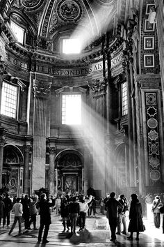 Touching the light, St. Peter's, Rome, Photograph at BetterPhoto.com