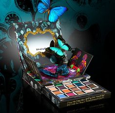 Alice Through the Looking Glass Eyeshadow Palette - Urban Decay  Inspired by the new fantasy-adventure film release of Disney's Alice Through the Looking Glass, this limited-edition, pop-up palette is a trippy tribute to some of the main characters from the film.