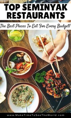 Seminyak is Bali's Foodie Paradise! Click through for our run down of the Best Place to Eat Bali & take you on a tour of the top Seminyak Restaurants *************************************************************************************** Where to Eat Seminyak | Top Restaurants Seminyak | Best Restaurants Seminyak | Budget Restaurants Seminyak | Best Places to Eat in Bali