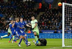 With the Leicester Man City match fast approaching - could Aguero spoil the party? Premier League Scores, English Premier League, Latest Football News, King Power, Barclay Premier League, Leicester, City, Breaking Football News, Cities