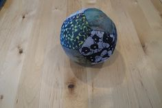 7th grade handwork included this geometric ball and celtic embroidery.