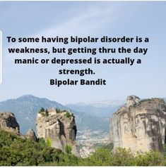 Getting through life with Bipolar Disorder takes a Champion! | Bipolar Bandit Mental Health Advocate, Mental Health Quotes, Bipolar Disorder Quotes, Own Quotes, Depression Quotes, Psychiatry, Blog Writing, Encouragement Quotes, Social Work