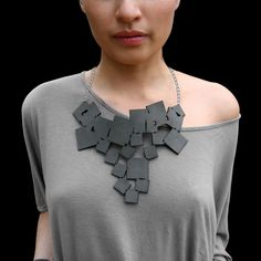 Check out what's on sale at TouchOfModern---Tumbling Squares Necklace By Karole Mazeika & Grady Jaynes