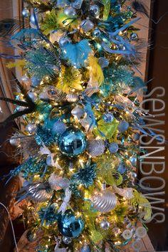 Christmas Ornament Refashions & DIY Tree Ideas | SewsNBows