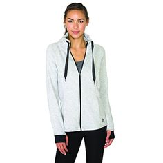 RBX Active Women's Fleece Lined Work-out Running Sweater Jacket *** Read more at the image link. (This is an affiliate link) #JacketsCoats