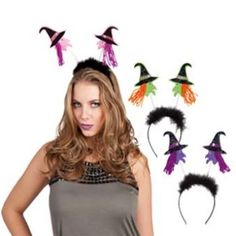 Halloween Diadeem Heks http://www.happy-party.nl/-c-351_83.html?infoBox=0