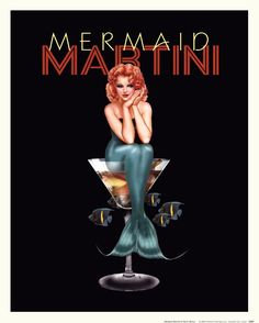 Ralph Burch Mermaid Martini