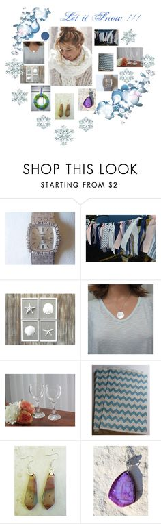 """""""Let it Snow !!!"""" by zebacreations ❤ liked on Polyvore"""
