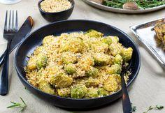 Villámgyors morzsás kelbimbó Okra, Paella, My Recipes, Sprouts, Cauliflower, Food And Drink, Vegetables, Ethnic Recipes, Cauliflowers