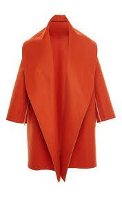 Orange Felted Wool Oversized Coat by Tome for Preorder on Moda Operandi Oversized Coat, Wool Felt, Felted Wool, Grey Fashion, Sewing Crafts, Winter Outfits, Style Inspiration, Orange, How To Wear