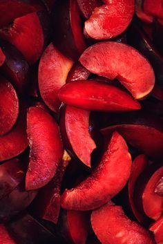 Red Plums by Alex Farnum