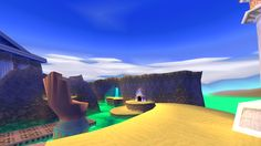 "spyroismagic:  """" Spyro 3 Year of the Dragon  Desert Ruins  "" """